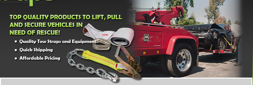 Quality Tow Straps & Equipment